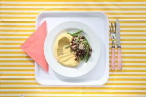 Luštěniny ve školní jídelně - dle zásad projektu Zdravá školní jídelna